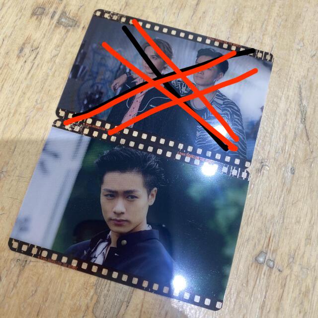 川村壱馬 フィルムカード エンタメ/ホビーのタレントグッズ(アイドルグッズ)の商品写真