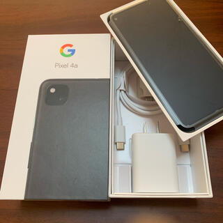 Google Pixel - Google Pixel4a グーグルピクセル4a Just Black