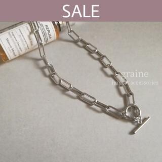 シールームリン(SeaRoomlynn)の【数量限定セール】stainless chain necklace①◆40cm(ネックレス)