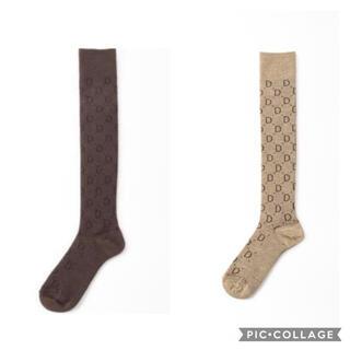DEUXIEME CLASSE - DEUXIEME CLASSE  jacquard socks 2足セット