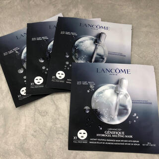 LANCOME - 【新品】ランコムジェニフィックアドバンストハイドロジェルマスク4枚【送料込】