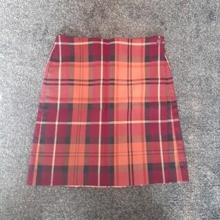 トミーヒルフィガー(TOMMY HILFIGER)のTOMMY HILFIGER チェック柄 巻きスカート(ひざ丈スカート)