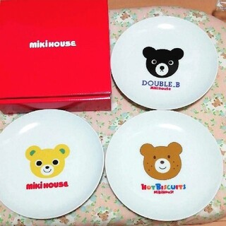 ミキハウス(mikihouse)の新品 MIKIHOUSE ミキハウス ノベルティ 非売品 お皿(食器)