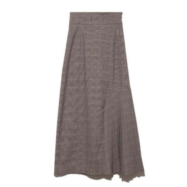 snidel(スナイデル)のスナイデル スイッチングチェックスカート レディースのスカート(ロングスカート)の商品写真