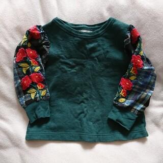 ゴートゥーハリウッド(GO TO HOLLYWOOD)のgotohollywood  刺繍スウェット 110㎝  カットソー(Tシャツ/カットソー)