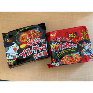 プルダックポックンミョン 激辛 韓国(インスタント食品)