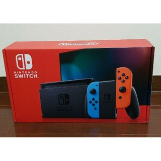 Nintendo Switch - Nintendo Switch 新型ネオン 新品 ※本日発送可能
