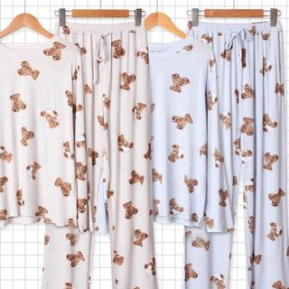 たっぷりクマさん ジェラートピケ ジェラピケ GU 量産型 パジャマ 部屋着