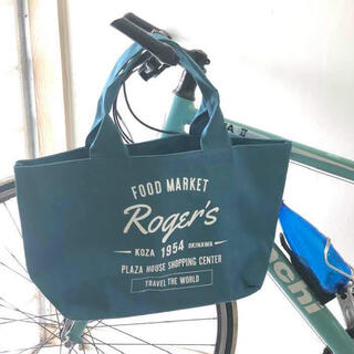 【新品】PLAZA HOUSE Roger's オリジナルトートバッグ ブルー(トートバッグ)