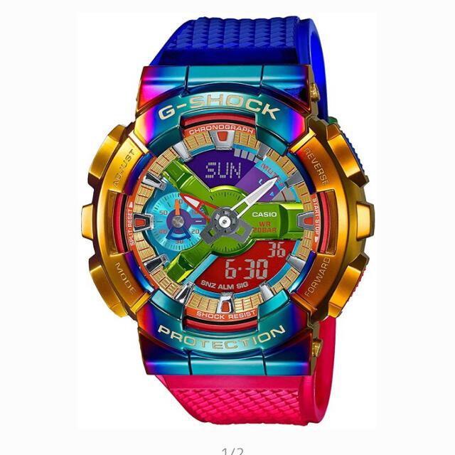 G-SHOCK(ジーショック)の2個カシオ G-SHOCK GM-110RB-2AJF ジーショック レインボー メンズの時計(腕時計(デジタル))の商品写真