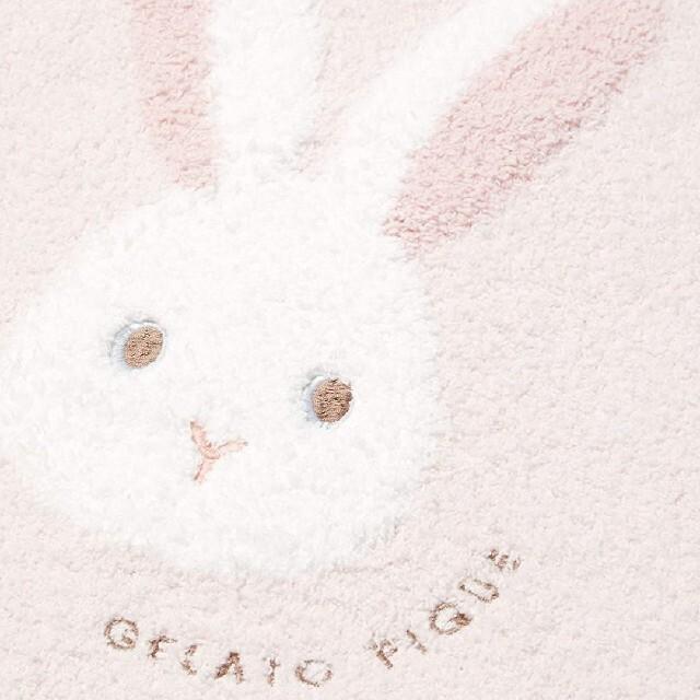 gelato pique(ジェラートピケ)の未使用ジェラートピケキッズ パウダーうさぎJQDプルオーバー xsサイズ キッズ/ベビー/マタニティのキッズ服女の子用(90cm~)(パジャマ)の商品写真