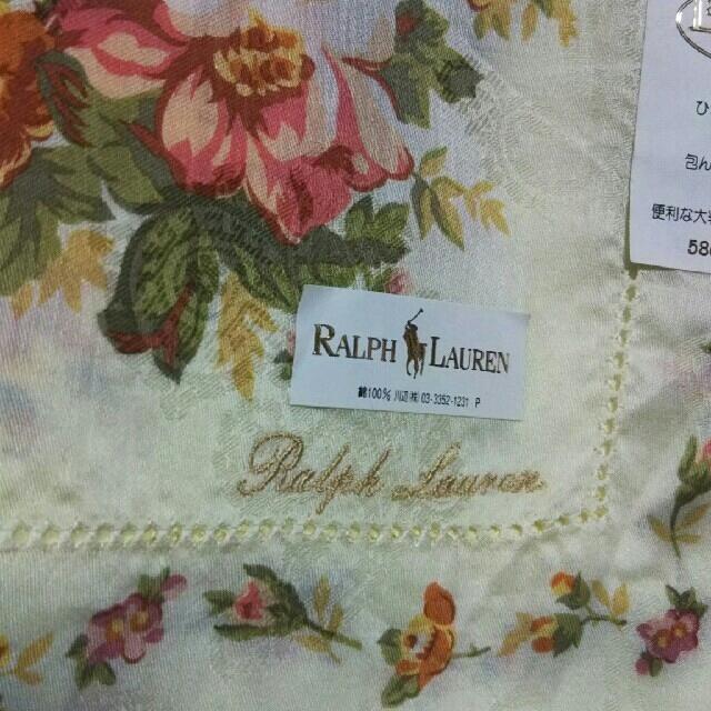 Ralph Lauren(ラルフローレン)の値下げ📌RALPH LAUREN☆大判ハンカチーフ58×58 レディースのファッション小物(バンダナ/スカーフ)の商品写真