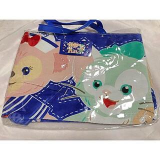 ディズニー(Disney)の香港ディズニー 限定 ダッフィー ジェラトーニ シェリーメイ タオル バッグ(タオル/バス用品)