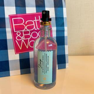 バスアンドボディーワークス(Bath & Body Works)の【新品】バスアンドボディワークス ピローミスト ラベンダーセージ(香水(女性用))