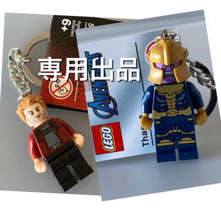 レゴ(Lego)のLEGO アベンジャーズ サノス キーホルダー キーリング ミニフィギュア(アメコミ)