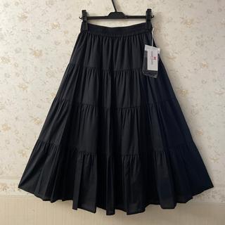 ギャラリービスコンティ(GALLERY VISCONTI)の☆ギャラリービスコンティ☆新品タグ付き‼︎可愛いティアードロングスカート ♪(ロングスカート)