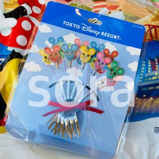 ディズニー(Disney)の新商品☆ ミッキー バルーン カトラリー フォーク 5本セット ディズニー(カトラリー/箸)
