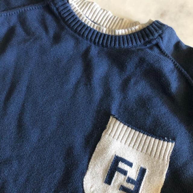 FENDI(フェンディ)の⭐︎フェンディ キッズ ニット トップス セーター 6歳コットン キッズ/ベビー/マタニティのキッズ服男の子用(90cm~)(ニット)の商品写真