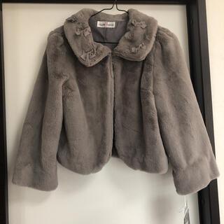 ギャラリービスコンティ(GALLERY VISCONTI)の新品タグ付き⭐︎GALLERY VISCONTI ファーコート(毛皮/ファーコート)