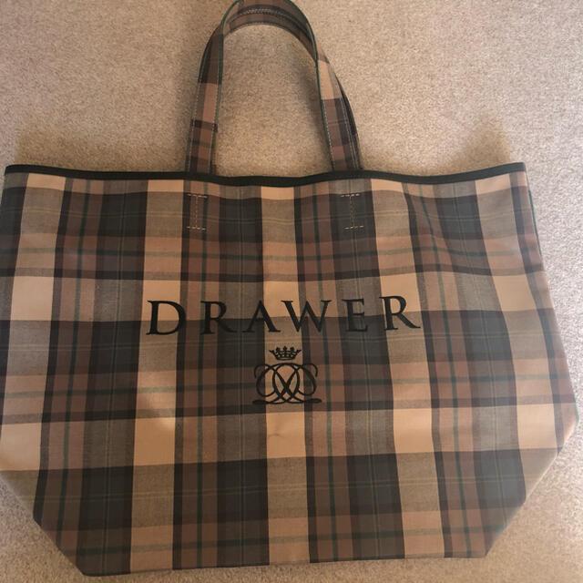 Drawer(ドゥロワー)のドゥロワーノベルティバッグ レディースのバッグ(トートバッグ)の商品写真