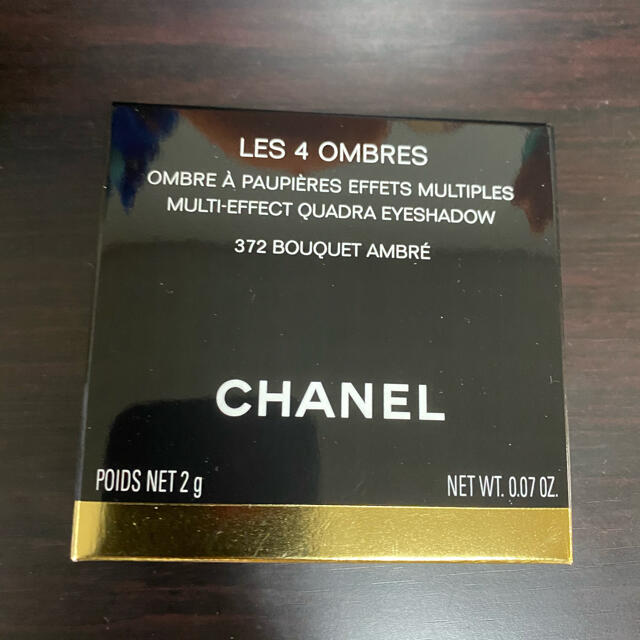 CHANEL(シャネル)のChanel シャネル アイシャドウ レ キャトル オンブル 372 コスメ/美容のベースメイク/化粧品(アイシャドウ)の商品写真