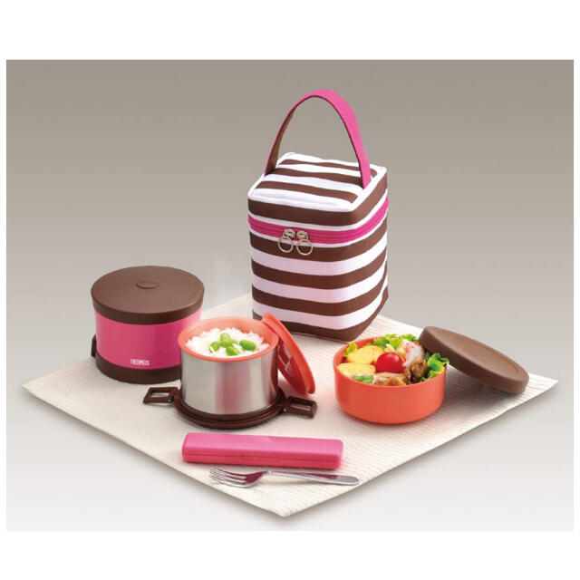 THERMOS(サーモス)のサーモス 保温弁当箱 インテリア/住まい/日用品のキッチン/食器(弁当用品)の商品写真
