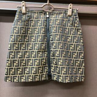 フェンディ(FENDI)のフェンディ FENDI ズッカ ミニスカート 巻きスカート(ミニスカート)