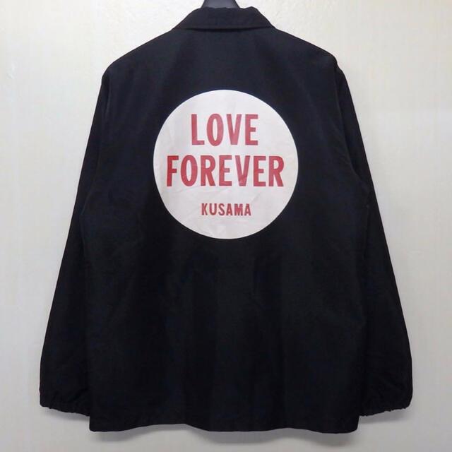 XLARGE(エクストララージ)のXlage 草間彌生 x girl コラボ コーチジャケット メンズのジャケット/アウター(ナイロンジャケット)の商品写真