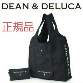 DEAN & DELUCA - DEAN&DELUCA ディーンアンドデルーカ ショッピングバッグ エコバッグ黒