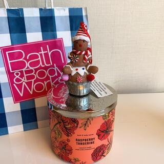 バスアンドボディーワークス(Bath & Body Works)の【新品】バスアンドボディワークス キャンドル アクセサリー ジンジャーブレッド(キャンドル)