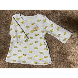 グラニフ(Design Tshirts Store graniph)のグラニフ トムとジェリー トレーナー ワンピース 90cm チーズ(Tシャツ/カットソー)