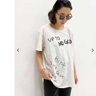 L'Appartement DEUXIEME CLASSE - 【R13/アールサーティーン】UP TO NO GOOD Tシャツ