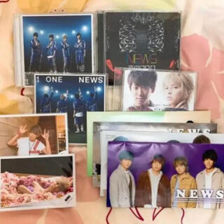 ニュース(NEWS)のNEWS CD 会報 公式写真 セット(アイドルグッズ)