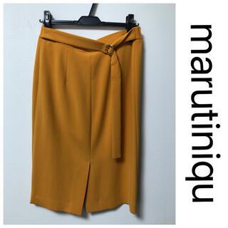 マルティニークルコント(martinique Le Conte)のマルティニーク タイトスカート(ひざ丈スカート)