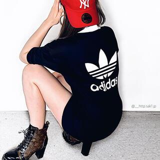 アディダス(adidas)のadidas originals ミニワンピース(ミニワンピース)