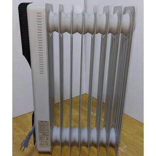 【配達無料!】Maxcelia オイルヒーター 白ホワイト MTS-1210E(オイルヒーター)