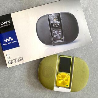 ウォークマン(WALKMAN)のWALKMAN NW-S754K(ポータブルプレーヤー)