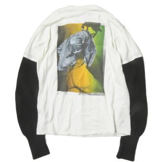 MAGLIANO ニットレイヤード ロングスリーブ tシャツ(Tシャツ/カットソー(七分/長袖))