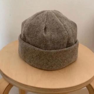 ネストローブ(nest Robe)のmite 帽子(ニット帽/ビーニー)