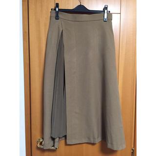 ロイスクレヨン(Lois CRAYON)の美品 ロイスクレヨン フレア プリーツ スカート (ロングスカート)