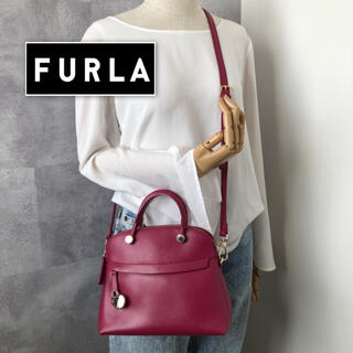 Furla - 【極美品】フルラ パイパー 2way ショルダーバッグ