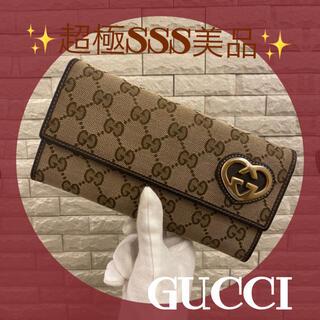 Gucci - ❣️可愛くて大容量❣️GUCCI グッチ ラブリー 長財布