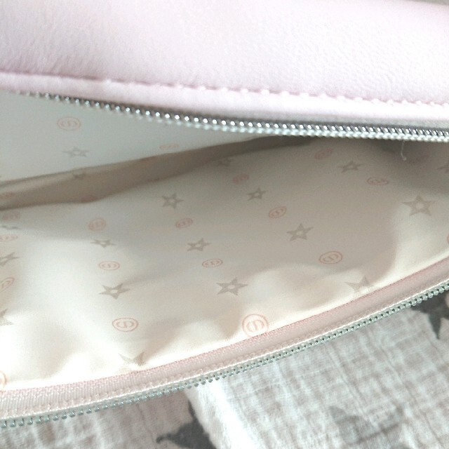Dior(ディオール)の【同梱用】ディオール ノベルティ ポーチ ピンク チャーム付き レディースのファッション小物(ポーチ)の商品写真
