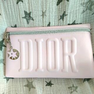 ディオール(Dior)の【同梱用】ディオール ノベルティ ポーチ ピンク チャーム付き(ポーチ)