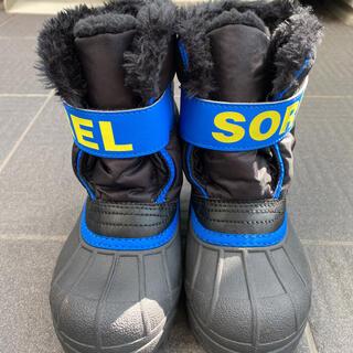 ソレル(SOREL)の【美品】ソレル スノーブーツ HAWKINS 16cm(ブーツ)