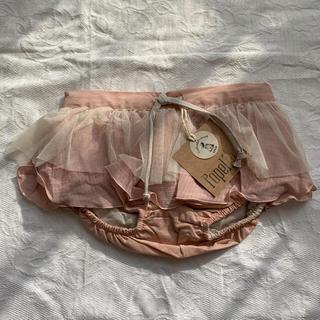 キャラメルベビー&チャイルド(Caramel baby&child )の3-4y パンツ付きスカートpopelin ポペリン(スカート)