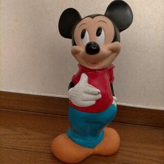 ミッキーマウス フィギュア アンティーク貯金箱(キャラクターグッズ)