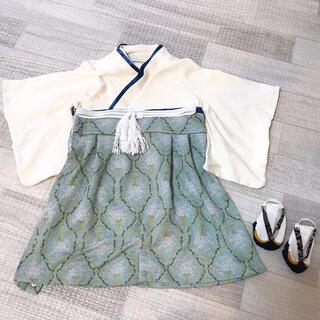 ベルメゾン(ベルメゾン)の袴風ロンパース  たびソックス(和服/着物)