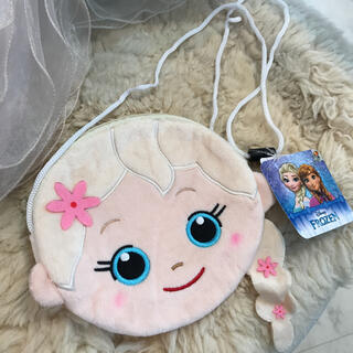 ディズニー(Disney)の☆新品☆アナと雪の女王 エルサ ポシェット フェイスポーチ(ポシェット)