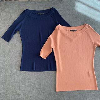 アナイ(ANAYI)のANAYI 38 ニット 2枚セット(カットソー(半袖/袖なし))